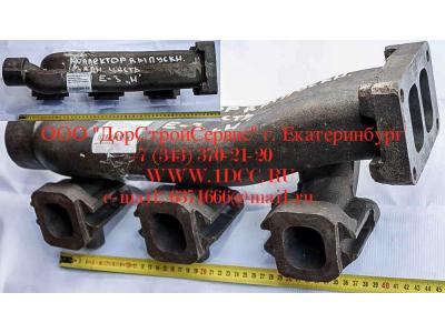 Коллектор выпускной задняя часть, двигатель WD615E3 HOWO (ХОВО) VG1540110004A фото 1 Волгоград